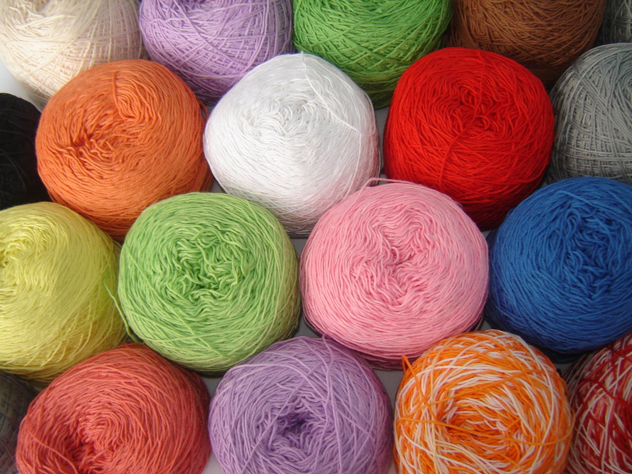 Cotton Crochet Yarn : My cotton thread collection: