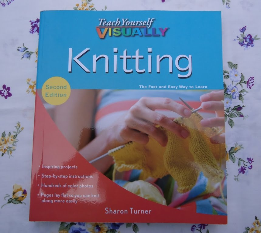 Knitting Books : Stitch of love my first knitting book