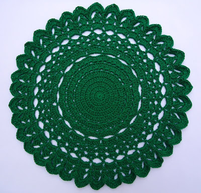 Christmas Doily - AllFreeCrochet.com - Free Crochet Patterns