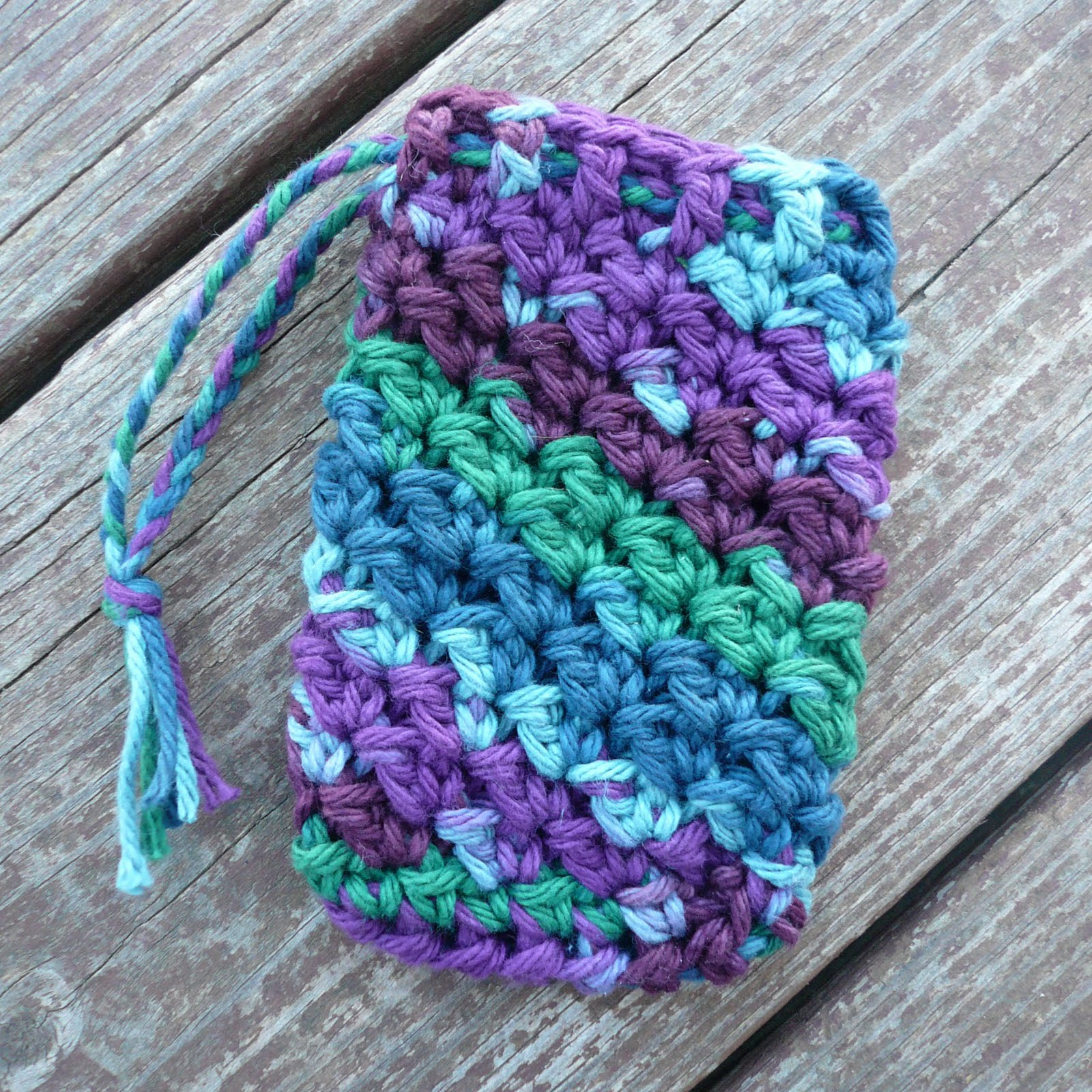 Free Crochet Pattern Soap Bag : Danyel Pink Designs: CROCHET PATTERN - Textured Soap Saver