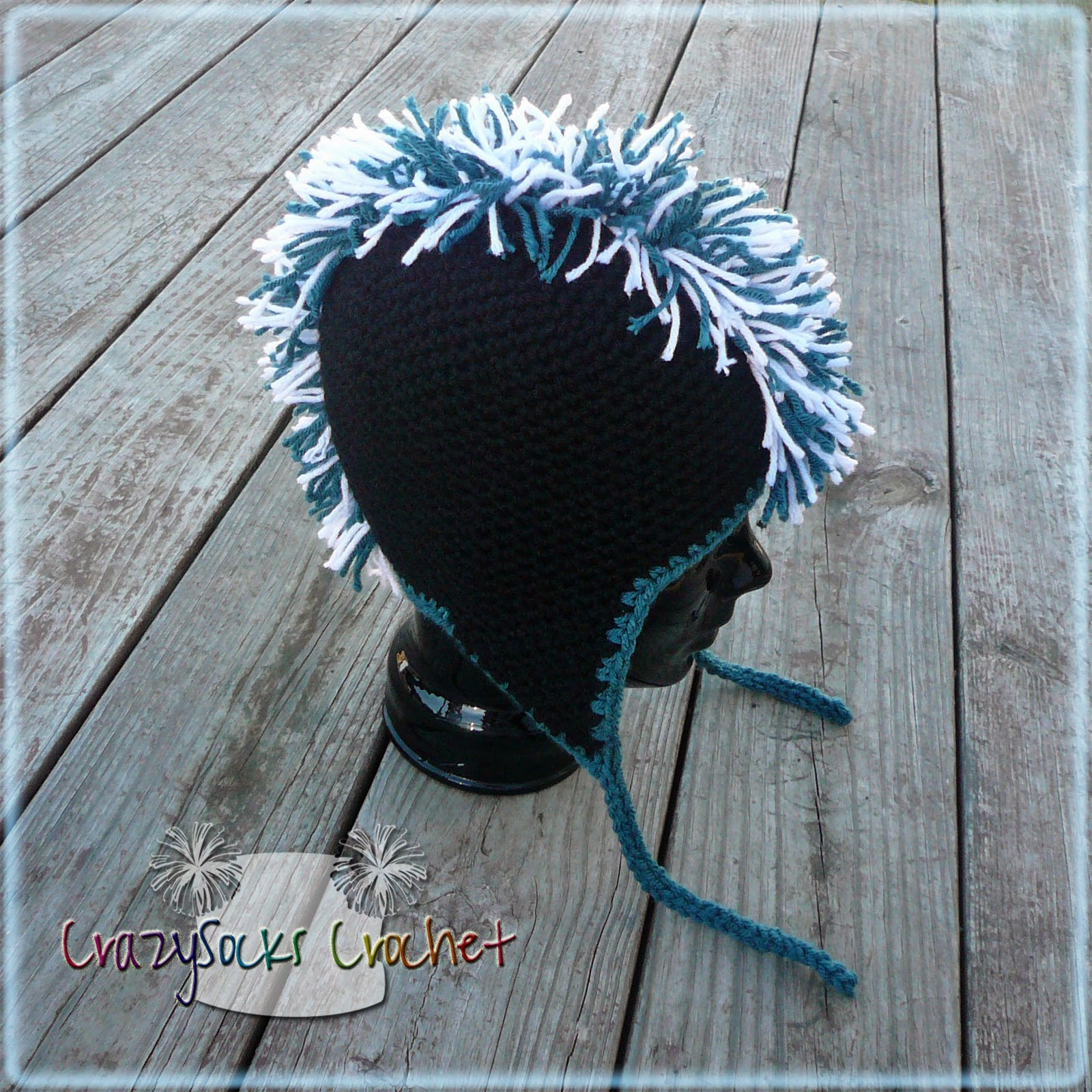 Crochet Mohawk : Its time consuming, but pretty simple. And it looks AWESOME! :) Enjoy ...