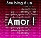 Selo Seu Blog é um Amor