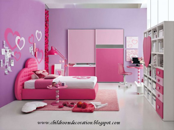 Child Room Decoration 2012 Girl Room Colors