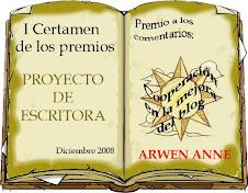Premio Proyecto de Escritora
