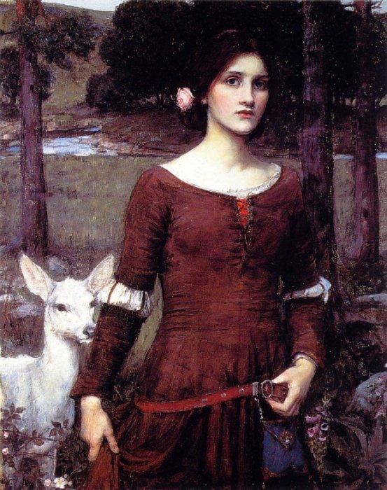 Gather Ye Rosebuds while ye may: John William Waterhouse - The ...