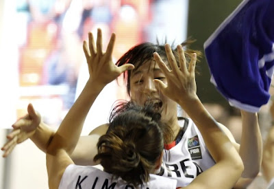 Korea women FIBA 2010 squad