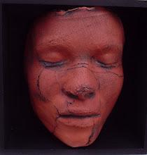 TERRA COTTA HEAD IN BOX (sold)