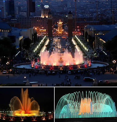 how to get to magic fountain barcelona