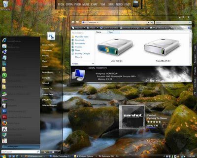 Download Aero Dynamic V.3 Theme For Vista Baixar
