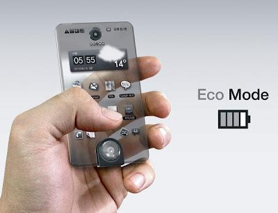 transparent telephone