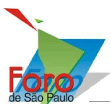 O BLOG denuncia o FORO DE SÃO PAULO