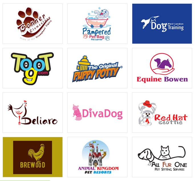 Custom Logo Design by LogoProDesign: Animals and Pets Logo Design
