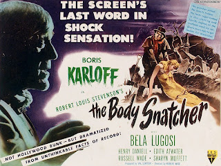 Lobby card for The Body Snatcher