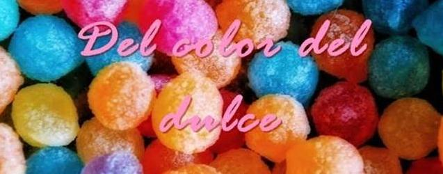 Del color del dulce