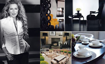 The happy turtle home style tips from kelly hoppen for Famous home interior designers