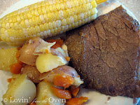 Pressure Cooker Roast Beef Potatoes