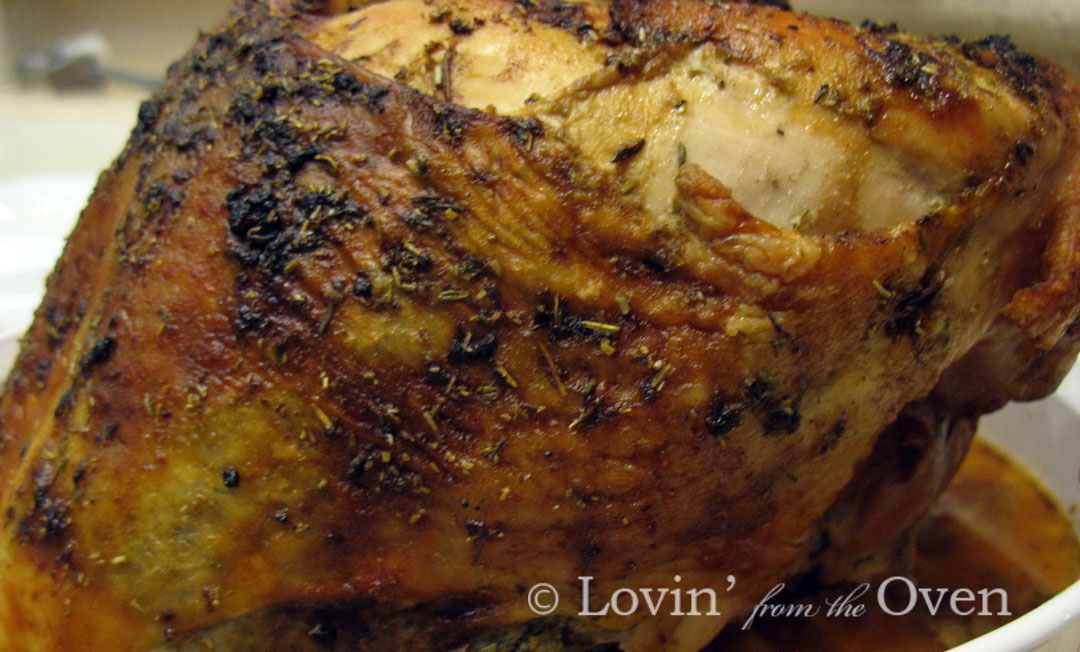 Frieda Loves Bread: Herbed Roasted Turkey Breast: Step by Step