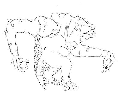 Star Wars Rancor Coloring Pages