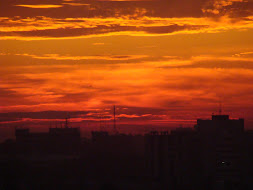 Bucharest Sky on Fire