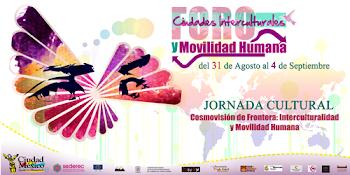 Foro Ciudades Interculturales y Movilidad Humana