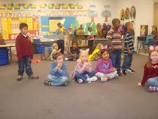 Steven in kindergarten!