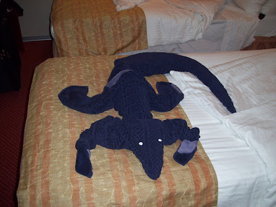 Image result for ALLIGATOR FOLDED TOWELS