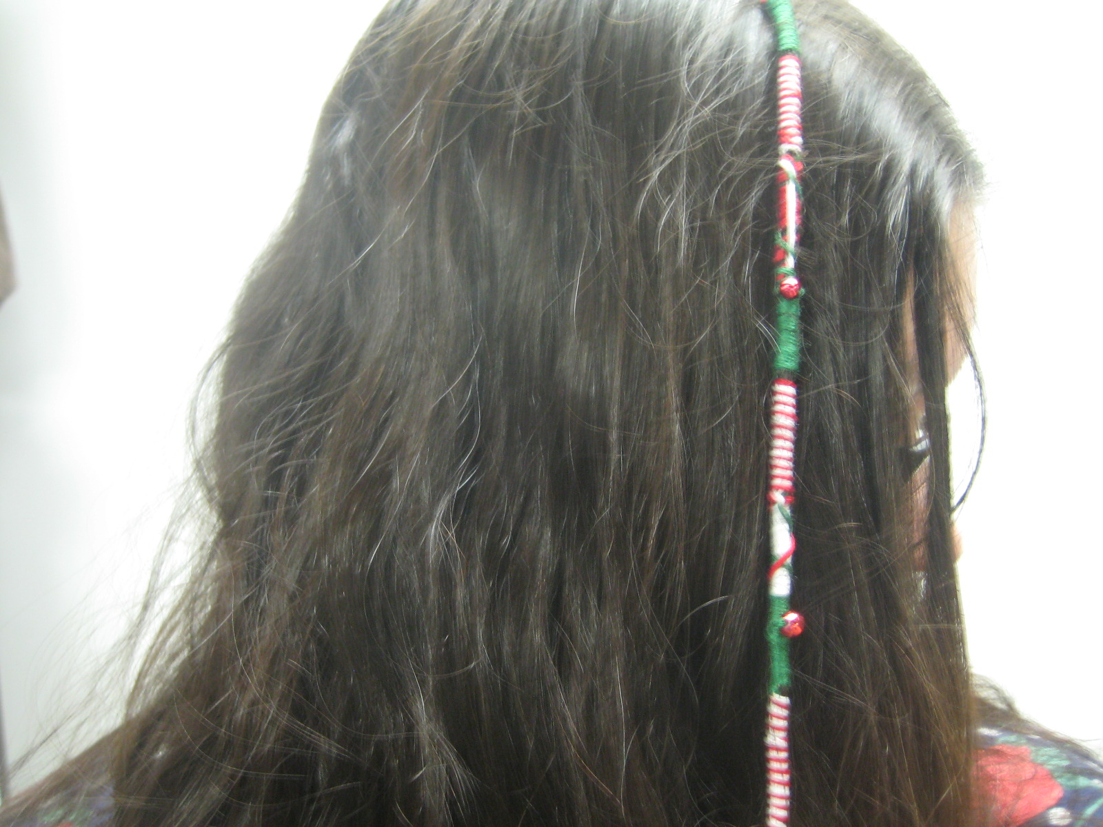 HAIR WRAP EMBROIDERY FLOSS  Embroidery Designs