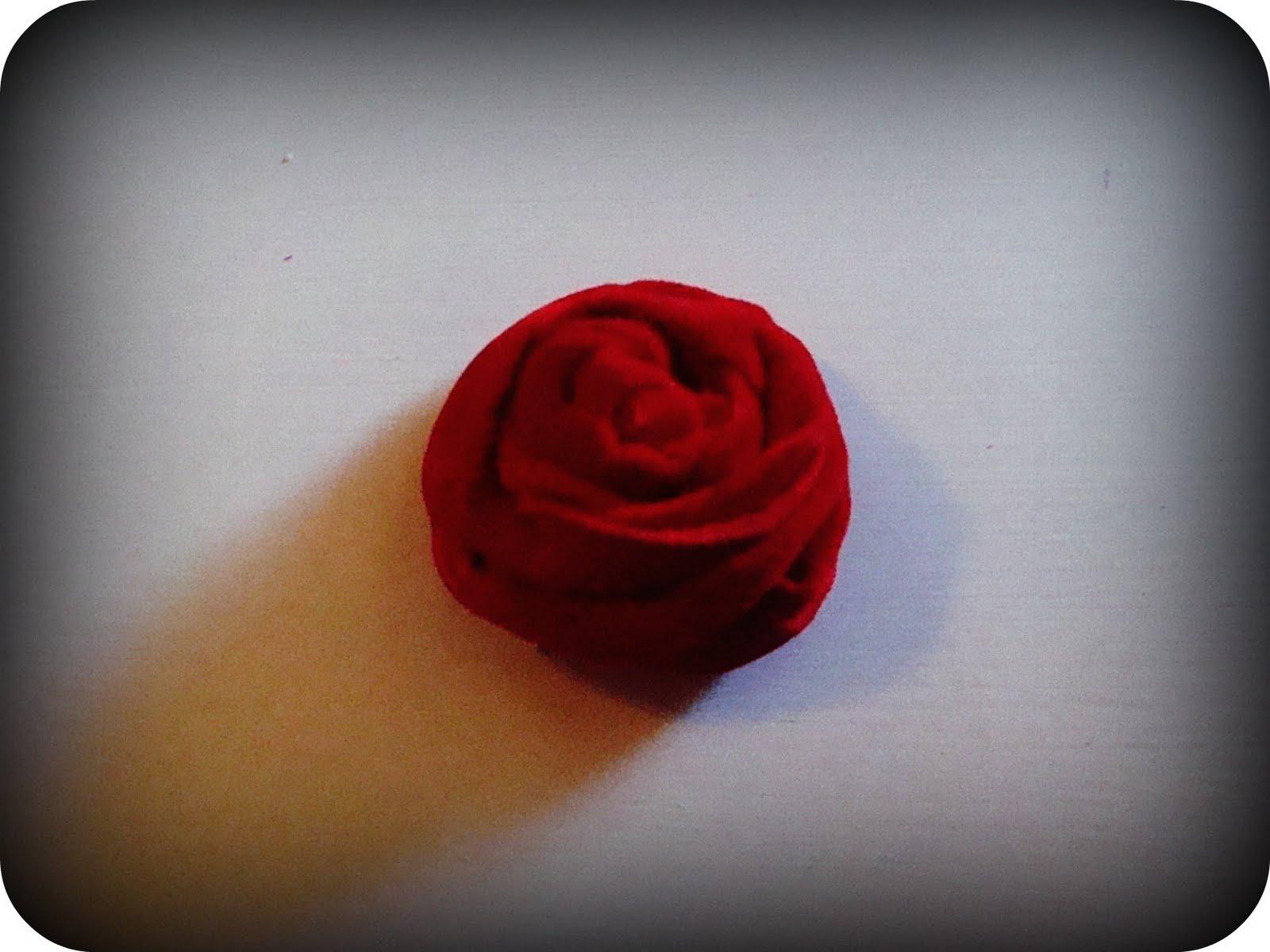 I used vintage red velvet and