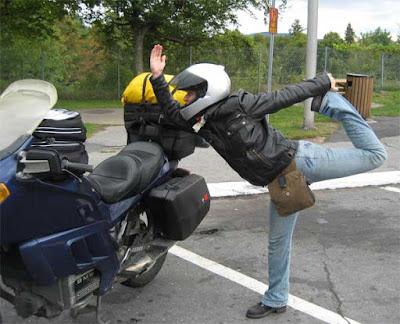 darla motorcycle yoga