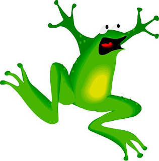like a frog on a hotplate
