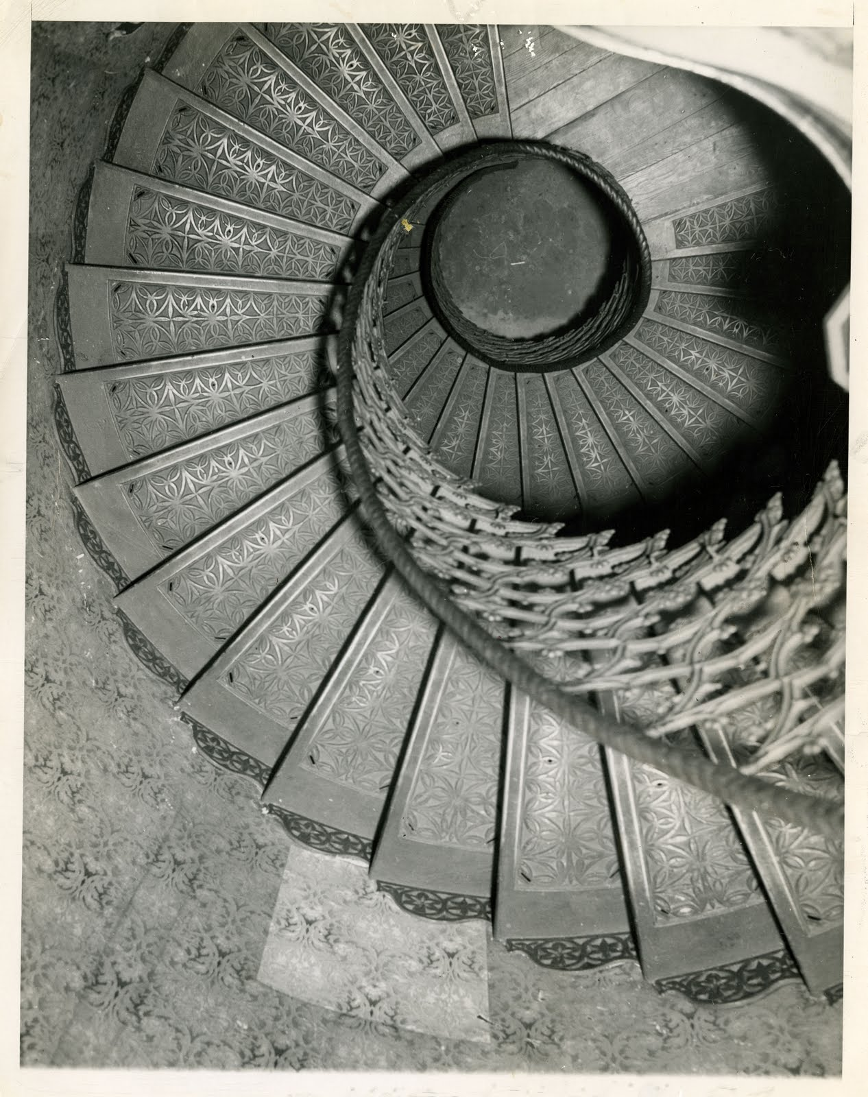 This Image Is A Recent Acquisition From EBay   It Shows The Staircase In  Prattu0027s Castle, Built By William Abbot Pratt In 1853 And Demolished In 1956.
