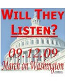 On 09.12.09, we will speak loudly and clearly. Will they listen?