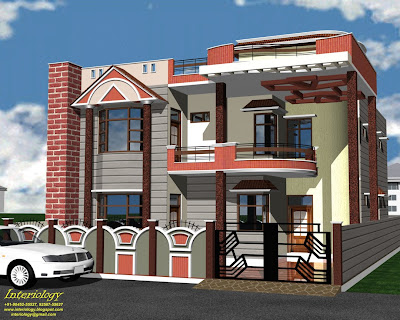Front Elevations Of Residential Buildings In India   iwpsd