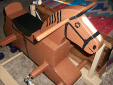 Rocking horse front view