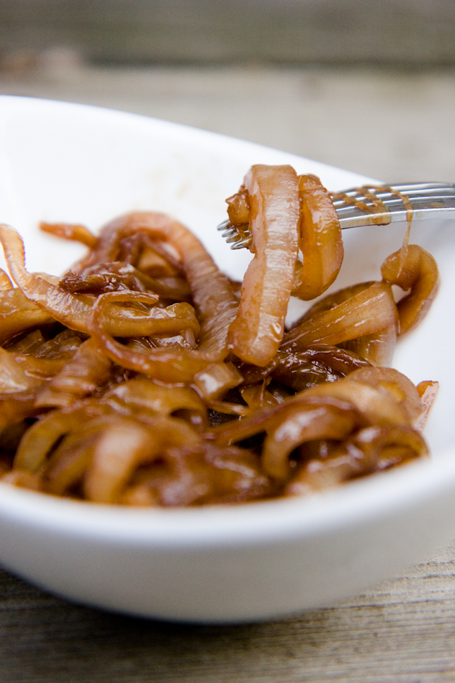 Grilled Onions with Balsamic Vinegar and Brown Sugar | Cupcake Project