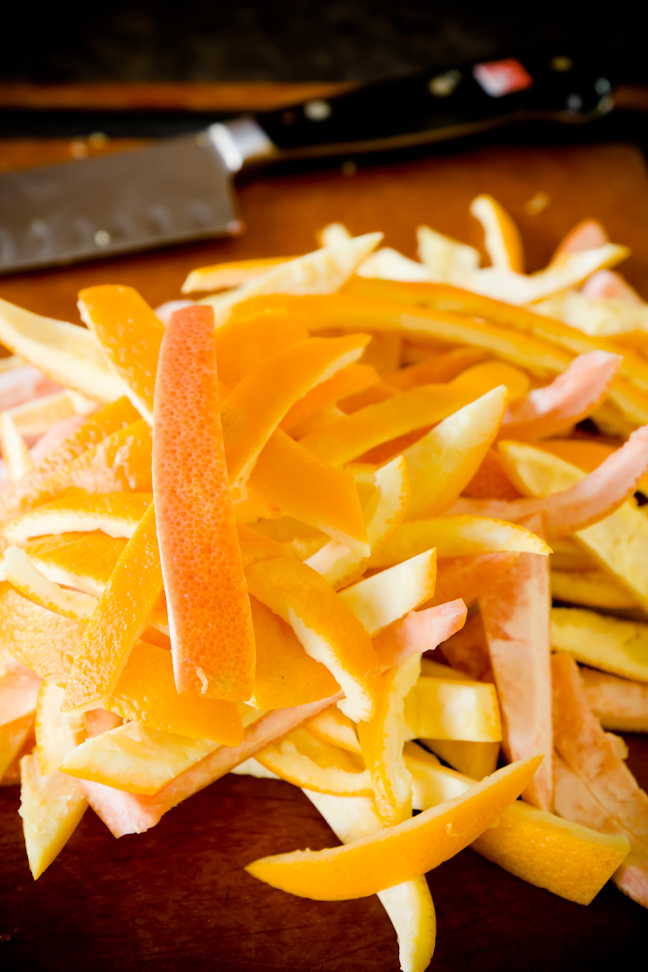 Candied Orange Peel – Pub Peels | Cupcake Project