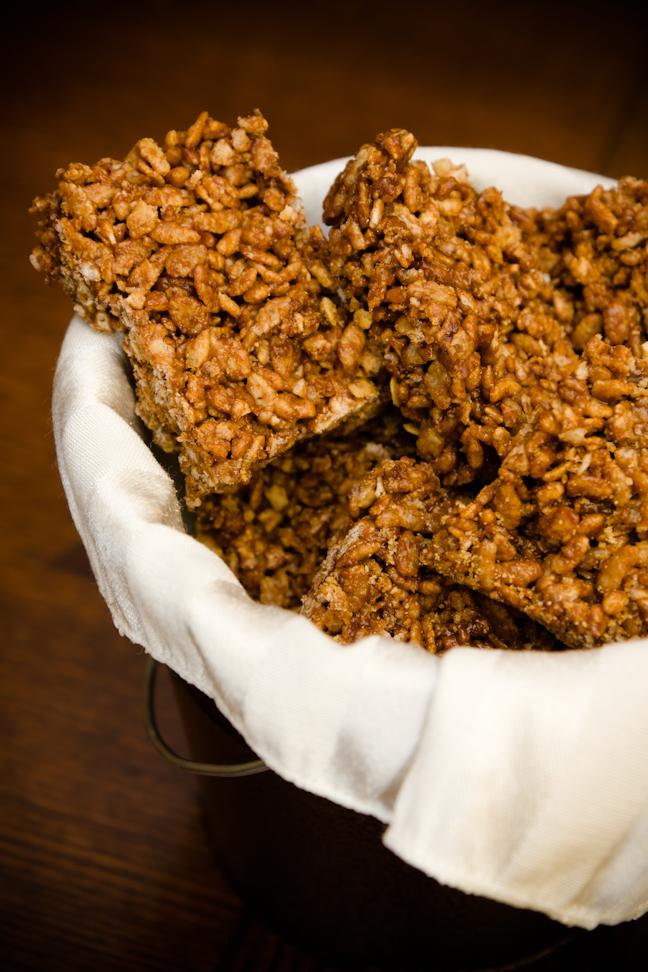 Honey Nutella Rice Krispie Treats | Cupcake Project