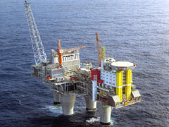 Largest Offshore Gas Platform