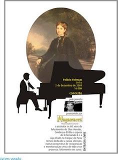 Concerto de piano em homenagem a Elise Hensler