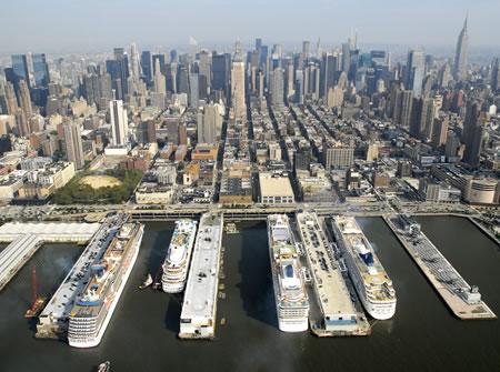 Professor Cruise Ship Cruise Port New York Usa