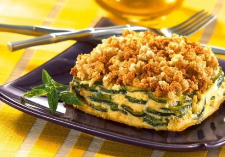 Lindaraxa: Crispy Zucchini Gratin
