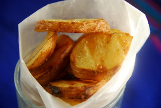 My Kitchen By The Lake: Grilled Potato Slices With Salt ...