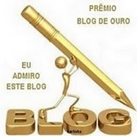 Selo De Ouro indicado pelo Blog do Itrcio
