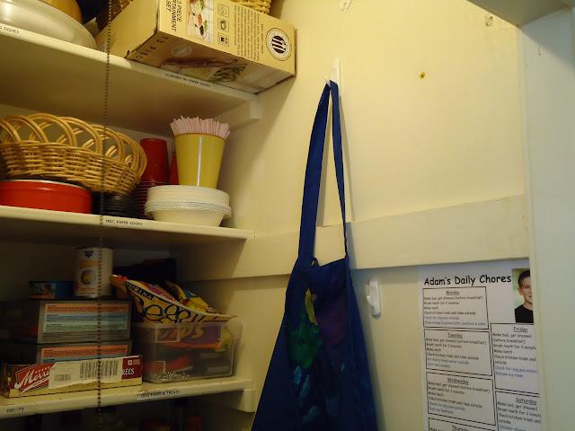 Pantry Hooks | organizingmadefun.com