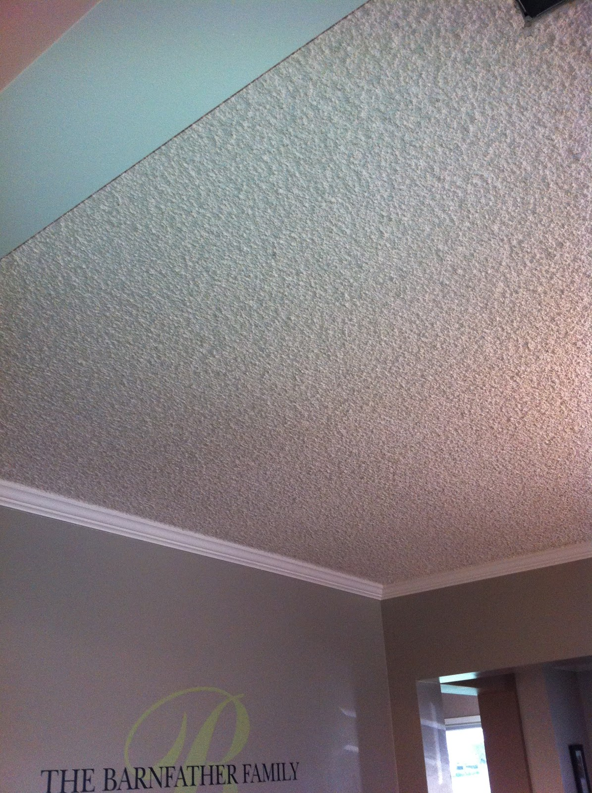 How to paint a ceiling a list of adventurous misfortunes for How much to paint a ceiling