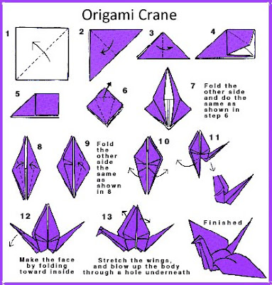 irandomness origami crane instructions my features article
