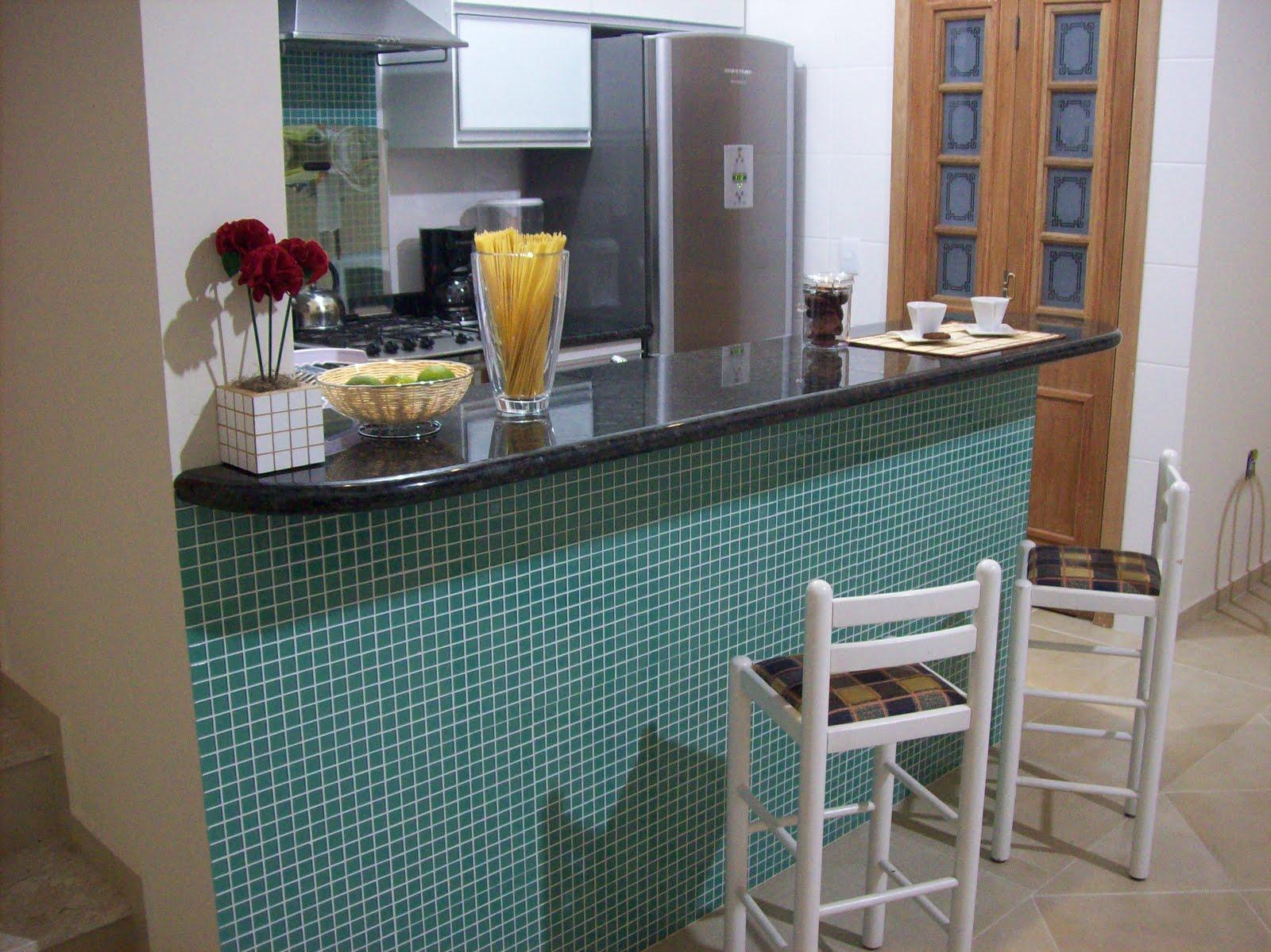 #664838 Foto 02: Frente do balcão de refeições que divide a cozinha das  1600x1199 px Fotos De Balcão De Granito Para Cozinha Americana_3445 Imagens