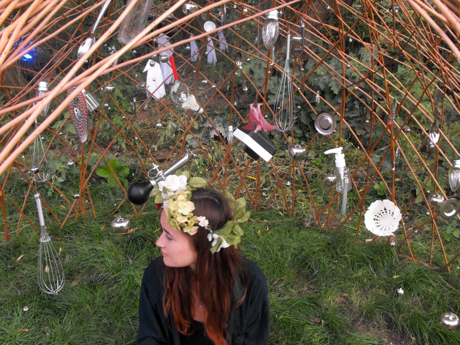 Laura Elizabeth Davies. Artist: Secret Garden Party, Installation ...