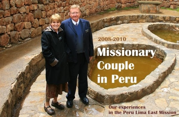 An LDS Missionary Couple in Peru