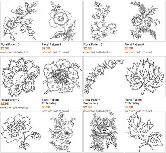 Best machine embroidery designs floral